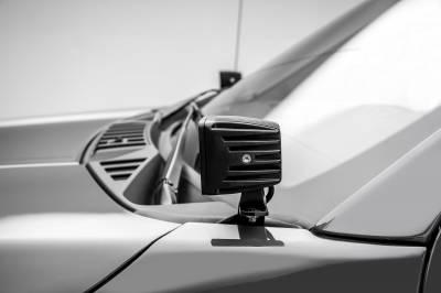 ZROADZ                                             - 2018-2020 Ford F-150 Hood Hinge LED Kit with (2) 3 Inch LED Pod Lights - PN #Z365711-KIT2 - Image 8
