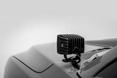 ZROADZ                                             - 2018-2020 Ford F-150 Hood Hinge LED Kit with (2) 3 Inch LED Pod Lights - PN #Z365711-KIT2 - Image 9