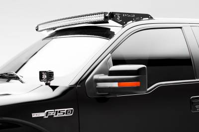 ZROADZ                                             - Ford Hood Hinge LED Bracket to mount (2) 3 Inch LED Pod Lights - PN #Z365601 - Image 3