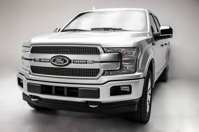 ZROADZ                                             - 2018-2020 Ford F-150 Platinum OEM Grille LED Kit, Incl. (2) 6 Inch LED Straight Single Row Slim Light Bars - PN# Z415583-KIT - Image 3