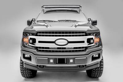 ZROADZ                                             - 2018-2019 Ford F-150 XLT, Sport, Super Crew OEM Grille LED Kit, Incl. (2) 3 Inch LED Pod Lights - PN #Z415751-KIT - Image 6