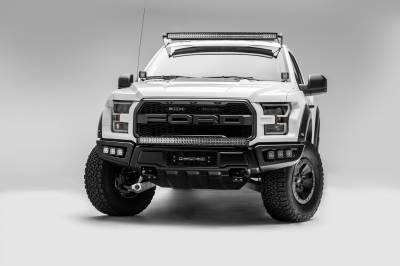 2017-2019 Ford F-150 Raptor Front Bumper OEM Fog LED Kit, Incl. (6) 3 Inch LED Pod Lights - PN #Z325652-KIT - Image 6