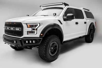 2017-2019 Ford F-150 Raptor Front Bumper OEM Fog LED Kit, Incl. (6) 3 Inch LED Pod Lights - PN #Z325652-KIT - Image 7
