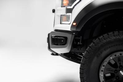 2017-2019 Ford F-150 Raptor Front Bumper OEM Fog LED Kit, Incl. (6) 3 Inch LED Pod Lights - PN #Z325652-KIT - Image 11