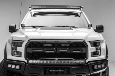 2017-2019 Ford F-150 Raptor Front Bumper OEM Fog LED Kit, Incl. (6) 3 Inch LED Pod Lights - PN #Z325652-KIT - Image 14