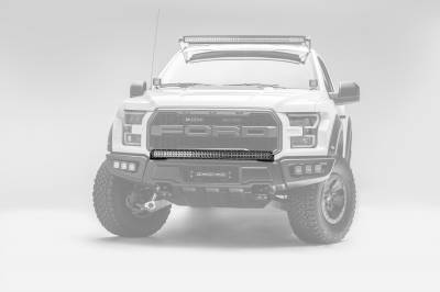 2017-2019 Ford F-150 Raptor Front Bumper Top LED Kit, Incl. (1) 40 Inch LED Curved Double Row Light Bar - PN #Z325662-KIT - Image 7