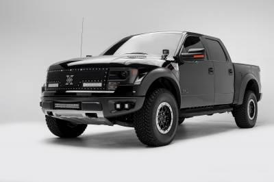 2010-2014 Ford F-150 Raptor Front Bumper OEM Fog LED Bracket to mount (2) 3 Inch LED Pod Lights - PN #Z325671 - Image 2