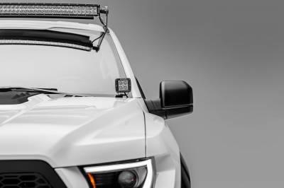 ZROADZ                                             - 2017-2019 Ford F-150 Raptor Hood Hinge LED Bracket to mount (2) 3 Inch LED Pod Lights - PN #Z365701 - Image 4