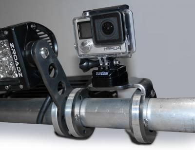 Universal Roof Mount LED Bracket Accessory to mount (1) 3 Inch LED Pod Light or GoPro Camera Mount - PN #Z350003 - Image 3
