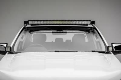 ZROADZ                                             - 2015-2018 Ford Ranger T6 Hood Hinge LED Bracket to mount (2) 3 Inch LED Pod Lights - PN #Z365761 - Image 2