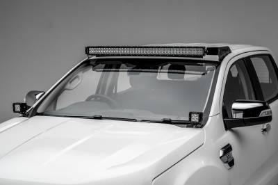 ZROADZ                                             - 2015-2018 Ford Ranger T6 Hood Hinge LED Bracket to mount (2) 3 Inch LED Pod Lights - PN #Z365761 - Image 4