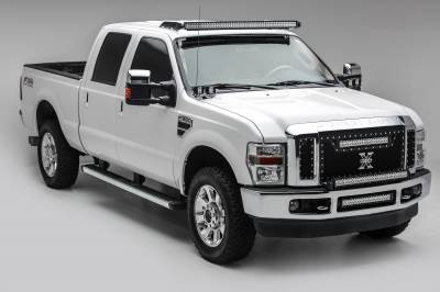 2008-2010 Ford Super Duty Front Bumper Center LED Bracket to mount 20 Inch LED Light Bar - PN #Z325632 - Image 2