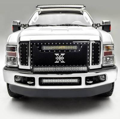 2008-2010 Ford Super Duty Front Bumper Center LED Bracket to mount 20 Inch LED Light Bar - PN #Z325632 - Image 3