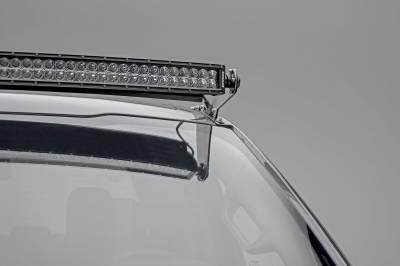 ZROADZ                                             - 2017-2021 Ford Super Duty Front Roof LED Bracket to mount (1) 52 Inch Curved LED Light Bar - PN #Z335471 - Image 3
