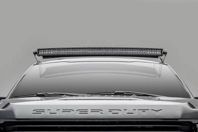 ZROADZ                                             - 2017-2021 Ford Super Duty Front Roof LED Bracket to mount (1) 52 Inch Curved LED Light Bar - PN #Z335471 - Image 4