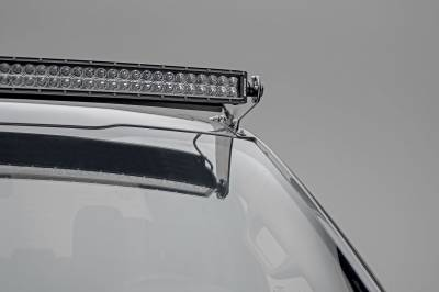 ZROADZ                                             - 2017-2019 Ford Super Duty Front Roof LED Kit, Incl. (1) 52 Inch LED Double Row Curved Light Bar - PN #Z335471-KIT - Image 4