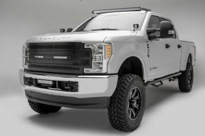 ZROADZ                                             - 2017-2019 Ford Super Duty Front Roof LED Kit, Incl. (1) 52 Inch LED Double Row Curved Light Bar - PN #Z335471-KIT - Image 6