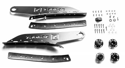 ZROADZ                                             - 2017-2019 Ford Super Duty Front Roof LED Kit, Incl. (1) 52 Inch LED Double Row Curved Light Bar - PN #Z335471-KIT - Image 8