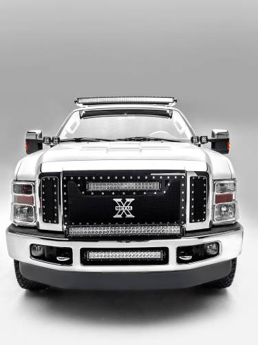 ZROADZ                                             - 1999-2016 Ford Super Duty Front Roof LED Kit, Incl. (1) 52 Inch LED Curved Double Row Light Bar - PN #Z335461-KIT-C - Image 4
