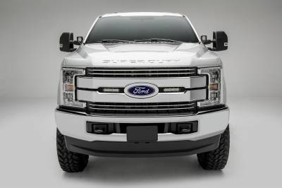 ZROADZ                                             - 2017-2021 Ford Super Duty Hood Hinge LED Bracket to mount (2) 3 Inch LED Pod Lights - PN #Z365471 - Image 9