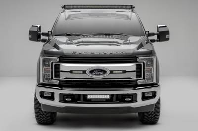 ZROADZ                                             - 2017-2021 Ford Super Duty Hood Hinge LED Bracket to mount (2) 3 Inch LED Pod Lights - PN #Z365471 - Image 10