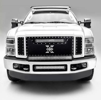 ZROADZ                                             - 2008-2010 Ford Super Duty Hood Hinge LED Kit, Incl. (2) 3 Inch LED Pod Lights - PN #Z365631-KIT2 - Image 2