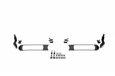 ZROADZ                                             - 2017-2019 Ford Super Duty XL OEM Grille LED Kit with (2) 6 Inch LED Straight Single Row Slim Light Bars - PN #Z415771-KIT - Image 6