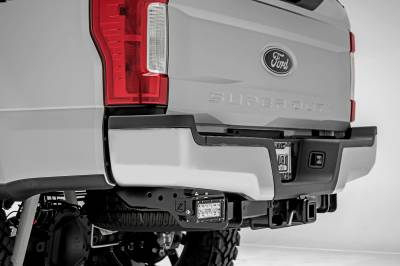 2017-2019 Ford Super Duty Rear Bumper LED Bracket to mount (2) 6 Inch Straight Light Bar - PN #Z385471 - Image 4