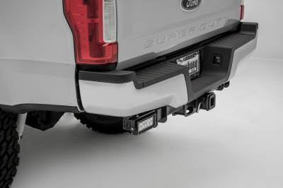2017-2019 Ford Super Duty Rear Bumper LED Bracket to mount (2) 6 Inch Straight Light Bar - PN #Z385471 - Image 5