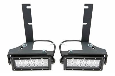 ZROADZ                                             - 2017-2019 Ford Super Duty Rear Bumper LED Bracket to mount (2) 6 Inch Straight Light Bar - PN #Z385471 - Image 8