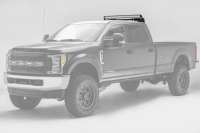 2017-2019 Ford Super Duty Modular Rack LED Bracket adjustable to mount up to (4) various size LED Light Bars - PN #Z355471 - Image 5