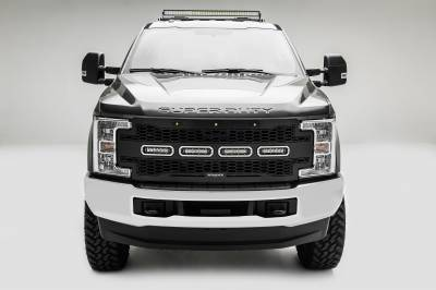2017-2019 Ford Super Duty Modular Rack LED Bracket adjustable to mount up to (4) various size LED Light Bars - PN #Z355471 - Image 8