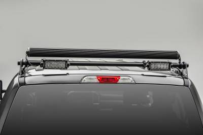 ZROADZ                                             - 2017-2019 Ford Super Duty Modular Rack LED Bracket adjustable to mount up to (4) various size LED Light Bars - PN #Z355471 - Image 9