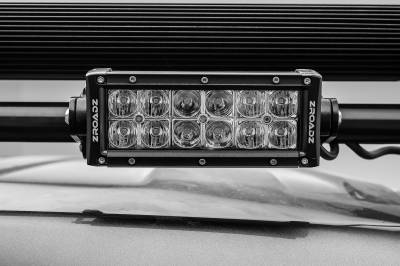 2017-2019 Ford Super Duty Modular Rack LED Bracket adjustable to mount up to (4) various size LED Light Bars - PN #Z355471 - Image 14