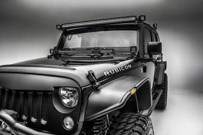ZROADZ                                             - 2007-2018 Jeep JK A Pillar LED Kit with (2) 3 Inch LED Pod Lights - PN #Z374814-KIT - Image 5