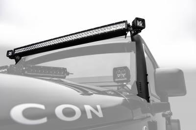 ZROADZ                                             - 2007-2018 Jeep JK Front Roof LED Kit, Incl. (1) 50 Inch LED Straight Double Row Light Bar - PN #Z374811-KIT-S - Image 2
