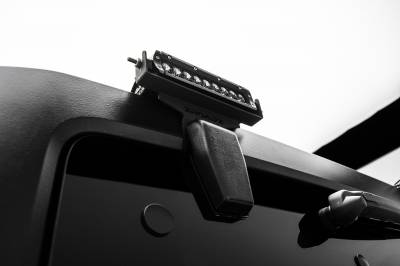 ZROADZ                                             - 2007-2018 Jeep JK Rear Window LED Kit, Incl. (2) 6 Inch LED Straight Single Row Slim Light Bars - PN #Z394812-KIT - Image 3