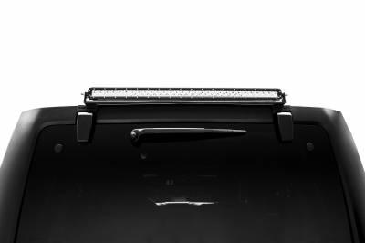 2007-2018 Jeep JK Rear Window LED Kit, Incl. (1) 30 Inch LED Straight Single Row Slim Light Bar - PN #Z394811-KIT - Image 3
