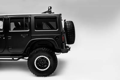 ZROADZ                                             - 2007-2018 Jeep JK Tail Light Protector LED Bracket to mount (2) 3 Inch LED Pod Lights - PN #Z384811 - Image 3