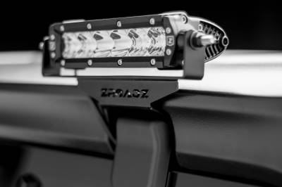 ZROADZ                                             - 2018-2021 Jeep JL Rear Window LED Bracket to mount (2) 6 Inch Staight Single Row LED Light Bars - PN #Z394941 - Image 1