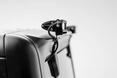 ZROADZ                                             - 2018-2020 Jeep JL Rear Window LED Kit, Incl. (2) 6 Inch LED Straight Single Row Slim Light Bars - PN #Z394941-KIT - Image 2