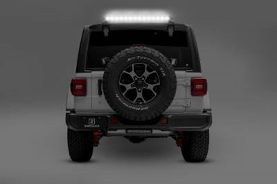 ZROADZ                                             - 2018-2021 Jeep JL Rear Window LED Bracket to mount (1) 30 Inch Staight Single Row LED Light Bar - PN #Z394931 - Image 5