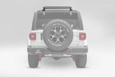 ZROADZ                                             - 2018-2021 Jeep JL Rear Window LED Bracket to mount (1) 30 Inch Staight Single Row LED Light Bar - PN #Z394931 - Image 6