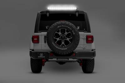 ZROADZ                                             - 2018-2020 Jeep JL Rear Window LED Kit, Incl. (1) 30 Inch LED Straight Single Row Slim Light Bar - PN #Z394931-KIT - Image 1