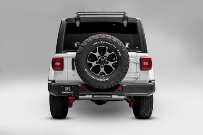 ZROADZ                                             - 2018-2020 Jeep JL Rear Window LED Kit, Incl. (1) 30 Inch LED Straight Single Row Slim Light Bar - PN #Z394931-KIT - Image 3