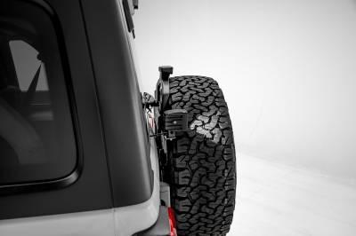 2018-2019 Jeep JL Rear Tire LED Kit, Incl. (2) 3 Inch LED Pod Lights - PN #Z394951-KIT - Image 5
