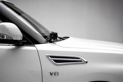 2010-2017 Nissan Patrol Y62 Hood Hinge LED Kit, Incl. (2) 3 Inch LED Pod Lights - PN #Z367871-KIT2 - Image 1