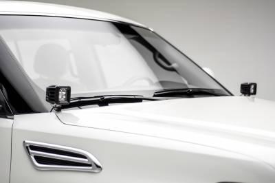 2010-2017 Nissan Patrol Y62 Hood Hinge LED Kit, Incl. (2) 3 Inch LED Pod Lights - PN #Z367871-KIT2 - Image 2