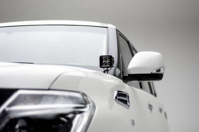 2010-2017 Nissan Patrol Y62 Hood Hinge LED Kit, Incl. (2) 3 Inch LED Pod Lights - PN #Z367871-KIT2 - Image 3