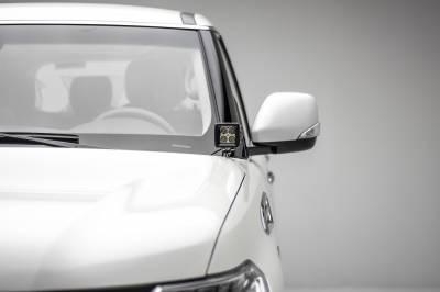 2010-2017 Nissan Patrol Y62 Hood Hinge LED Kit, Incl. (2) 3 Inch LED Pod Lights - PN #Z367871-KIT2 - Image 4